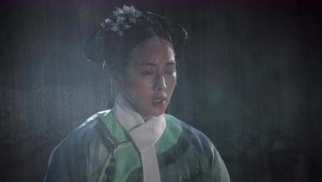 如懿传:海贵人被皇后责罚在雨中跪着,好可怜!