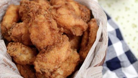 韩式炸鸡秘制方子,裹粉腌料详细过程,百分百成功皮薄酥酥脆