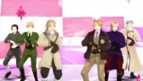【APH/MMD】ダンスロボットダンス【枢联+a】