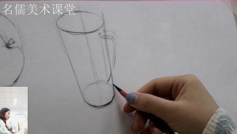 绘画杯子需要哪些技巧?小姐姐把运用的技巧都告诉你,学会了么?