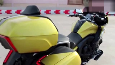 六缸摩托不只有本田金翼,还有宝马这款