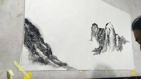 民间大叔画的这幅画太美了,你们喜欢这种精致的绘画艺术吗?