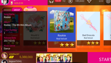 【SuperStar SMTOWN】Rookie!每次看红贝贝唱跳这首歌都觉得厉害...