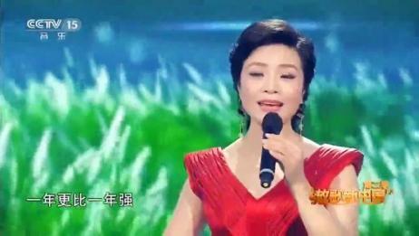李丹阳动情演唱《洪湖水浪打浪》,经典旋律,赢得掌声一片!