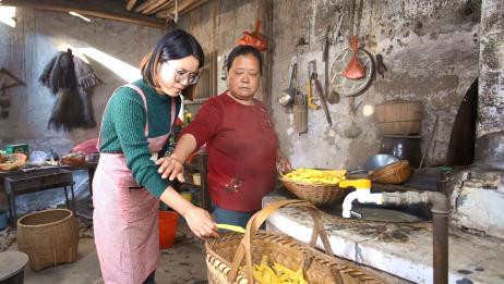 儿媳妇想吃红薯,农村婆婆煮了一大锅,出锅后为啥婆婆不让儿媳吃