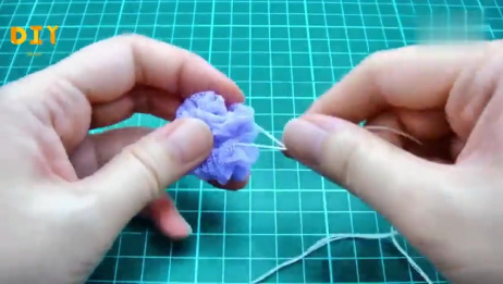 3分钟,教你制作精美的迷你浴球,方法很简单,是不是很有创意