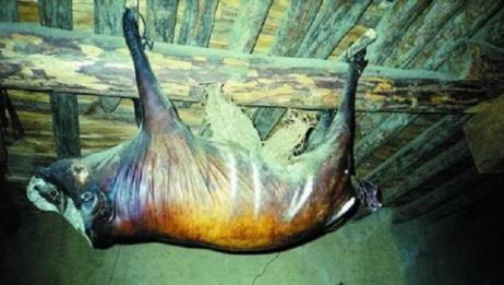 四川扎坝美食臭猪肉,存放30年有人出价56万购买,却惨遭拒绝