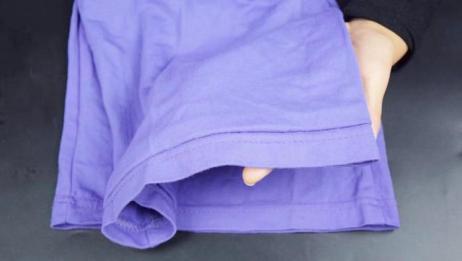 裤子太长不用花钱找人改,缝几针就能收短裤子,不用剪看不出痕迹