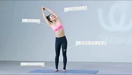 瑜伽初步:风吹树式,每天练一练,健康又瘦身!