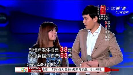 中国好声音:投票到最后才显示出优势,塔斯肯应该是稳了