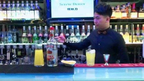 调酒师 #调酒培训 #广东省调酒与品酒鉴赏协会 #螺丝刀 螺丝刀鸡尾酒,希望大家喜欢。了解