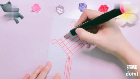 教你1分钟手绘中国结