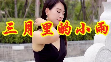 女歌手一首DJ版《三月里的小雨》,歌舞动感激情,听着过瘾