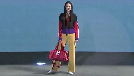 时装秀:针织休闲套装,靓丽大胆的色彩搭配,展现年轻人张扬个性
