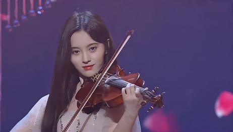 鞠婧祎周洁琼巅峰对决,现场大秀小提琴,简直就是一场视听盛宴!