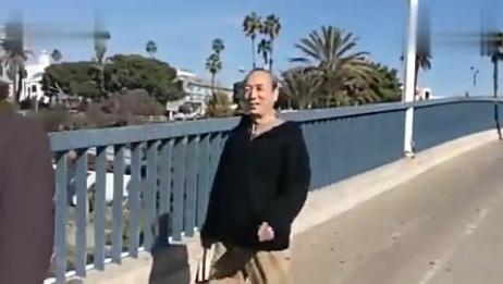 美国西部游之一洛杉矶圣莫尼卡海滩