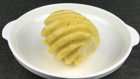 菠萝别再生吃了,大厨教你做正宗的粤菜菠萝咕噜肉,保证你胃口大开
