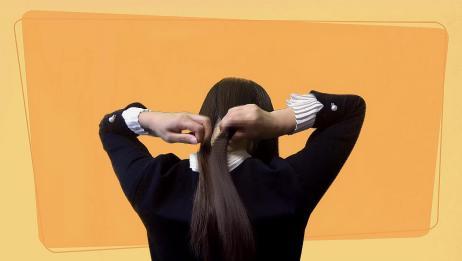 奢求季节,不想扎头发怎么办,两招教你快速搞定一款气质造型