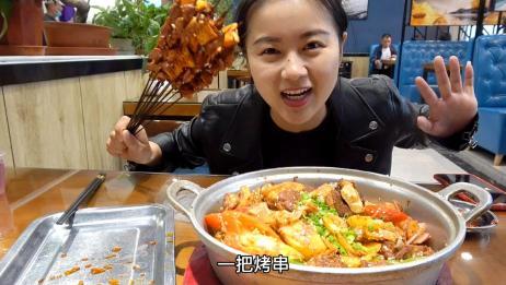 在宁波老家吃海鲜吃爽了,回到青海继续吃牛羊肉,便宜量大又好吃