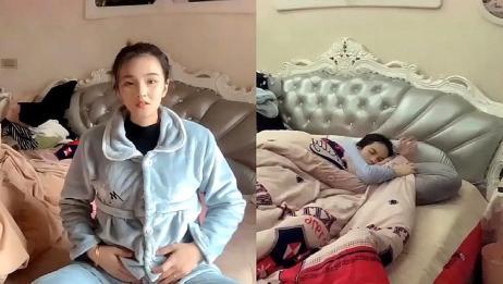 怀孕五个月,老公不在身边小孕妇竟是这样的,网友:泪目!