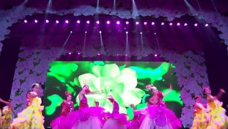 云川之舞十年校庆大型少儿舞蹈诗【茉莉情怀】开场《盛世茉莉》