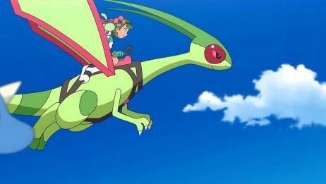 精灵宝可梦:守护者的坐骑竟会飞,全体在空中飞行,非常有牌面!