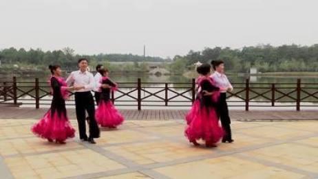 高安体育舞蹈协会交谊舞 喜乐年华 表演