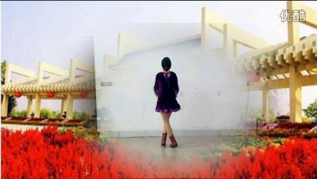 湖北民歌【中国有个小地方】阿采广场舞83 含分解和背面演示