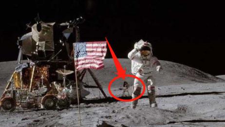 Nasa从未公开的秘密!宇航员在月球遭遇UFO攻击,疑似三眼外星生物