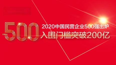 中国民营企业500强出炉,为什么没有阿里、腾讯和京东?