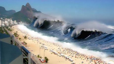 海啸原来是这么形成的,难怪威力如此恐怖,看完后感到不寒而栗!