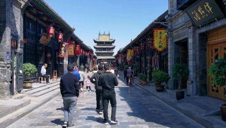 平遥古城内的明清一条街,游客真的不多!