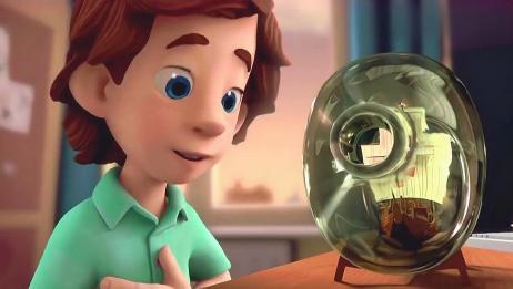 螺丝钉:螺丝钉告诉你,瓶中船的瓶口这么小,那到底是怎么进去的