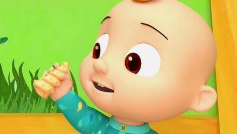 幼儿益智动漫:小宝宝很厉害,还能叫帮手,哥哥姐姐都赢不过他了