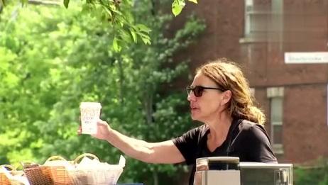 爆笑恶搞,说出来你可能不信,我遇到蜘蛛侠来买咖啡了