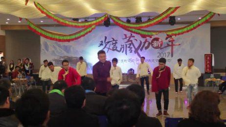 河海大学藏族学生欢度藏历新年