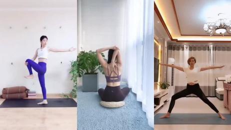 健身减肥瑜伽:拯救病态身材,这身姿真的好迷人!
