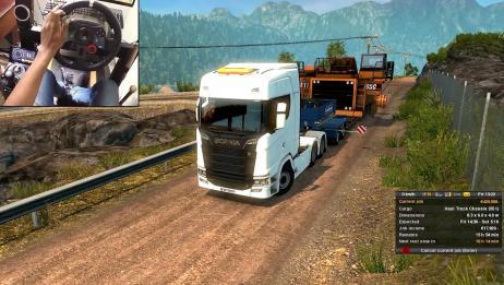 想开大卡车吗,这款游戏满足你卡车司机梦,相当真实的驾驶感受