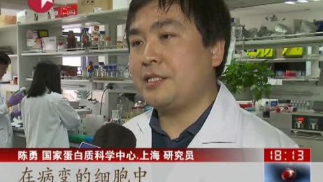 上海:科学家成功解析癌症关键蛋白