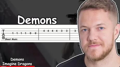 【吉他教程】Demonsimagin dragons 好听又简单