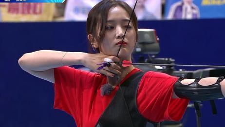 女子射箭预赛B组回顾下集:吴宣仪PK Sunnee
