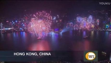 2017跨年夜全球各大城市烟花表演集锦