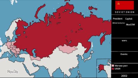 【架空历史地图】苏联(19002020)