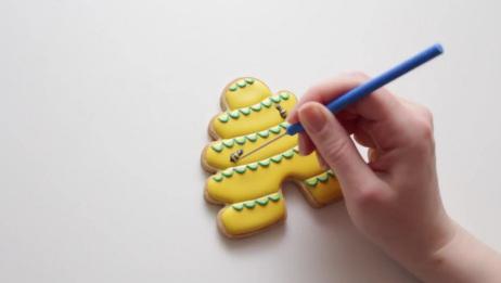 SweetAmbsCookies | 如何装饰蜂蜜+蜂巢曲奇