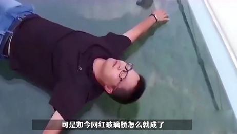 """当前网红玻璃桥竟成了""""偷窥桥""""?网友:林子大了什么鸟都有!"""