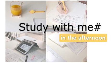 study with me|午后学习日常|笔记整理记录|学习流程SA