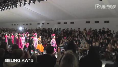 2015秋冬伦敦时装周:SIBLING秀场
