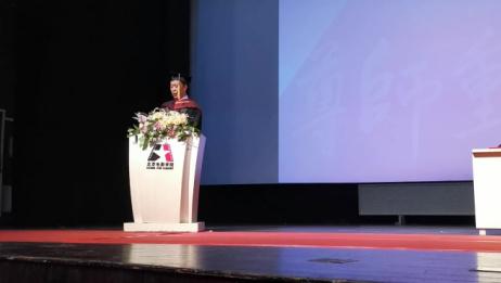 担当!北京电影学院毕业典礼校长致辞:要以中国电影为己任