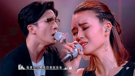 薛之谦和美女唱《演员》太走心,两人大胆牵手,引发全场泪崩!