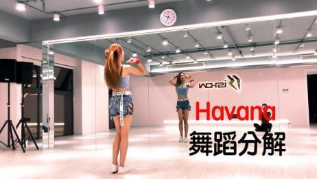 《Havana》舞蹈镜面分解